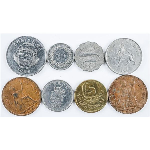 Bag of Great Britain Coins