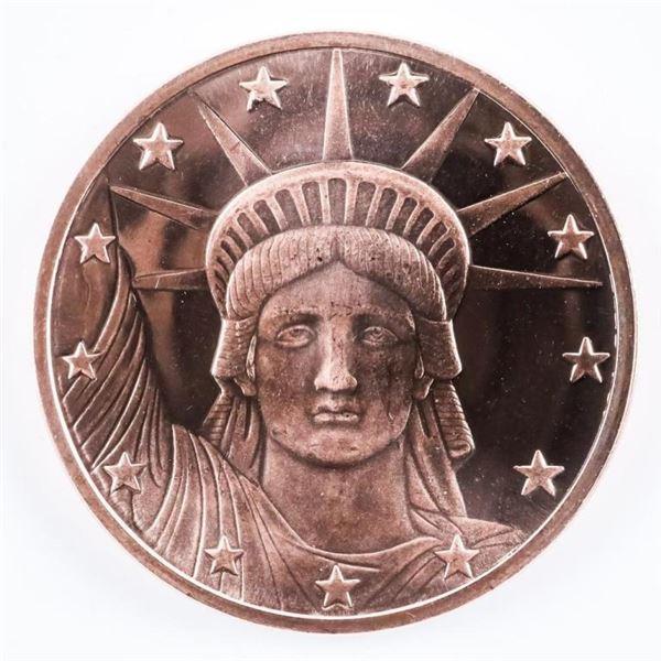 Eagle/Liberty Copper Round 1oz .999 Fine