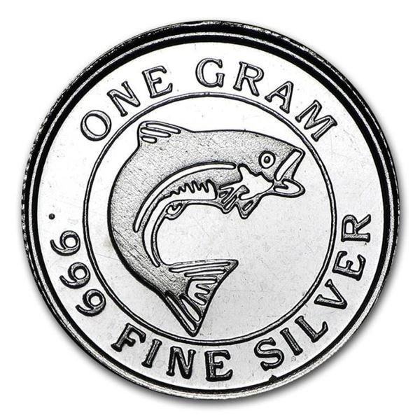 Collector Silver Bullion Round .999 Fine  Silver