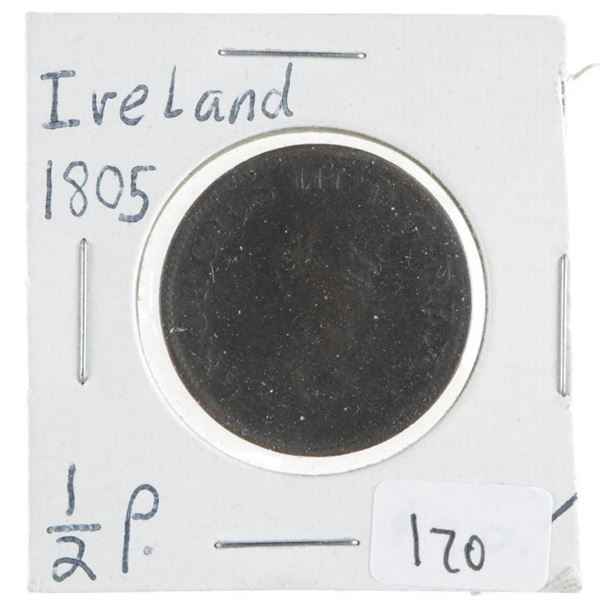 Ireland 1805 1/2P