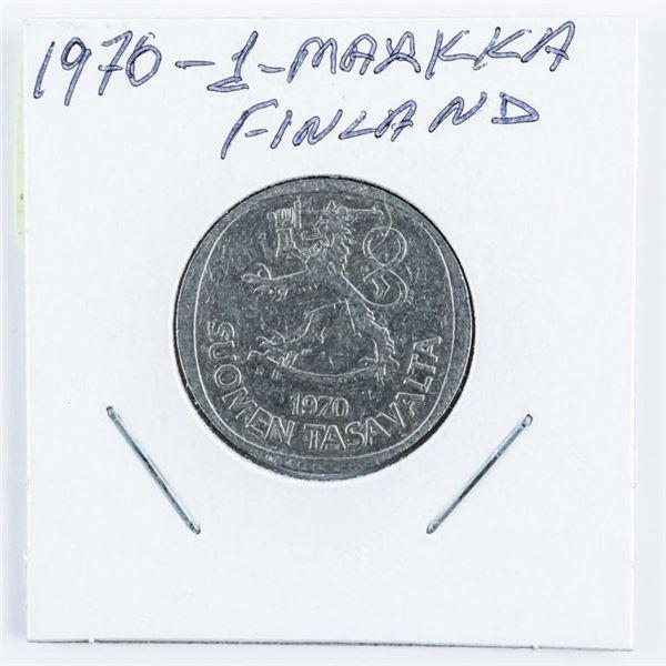 1970 Finland 1 Markka