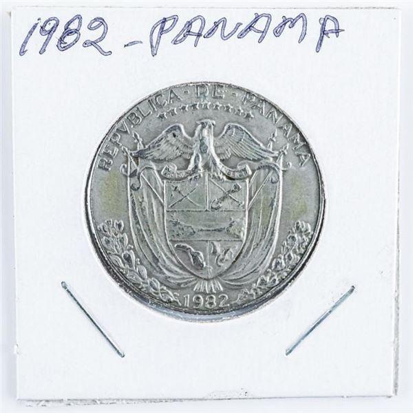 1982 Panama Medio Balboa