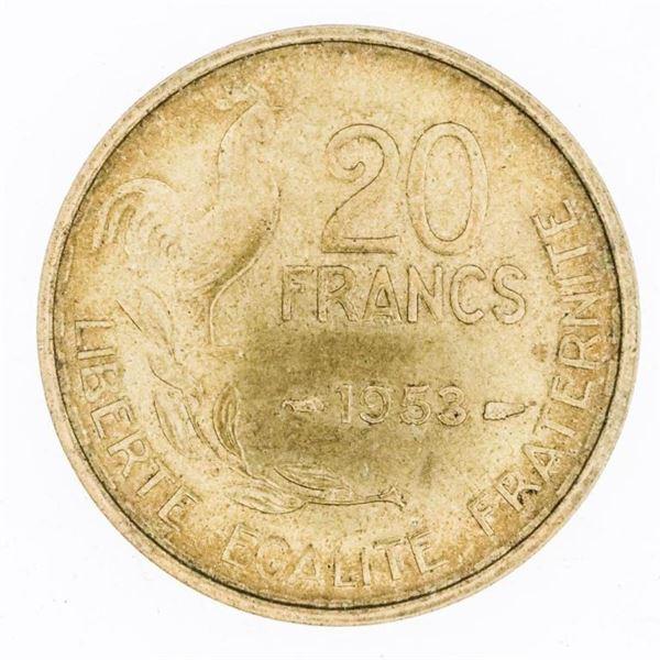 France 1953 20 Francs MS65