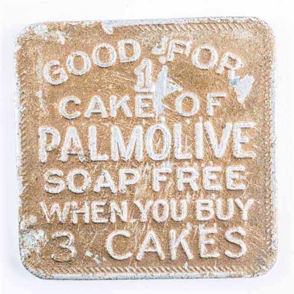 Vintage Token - Good For 1 Cake of Palmolive  Soap Free