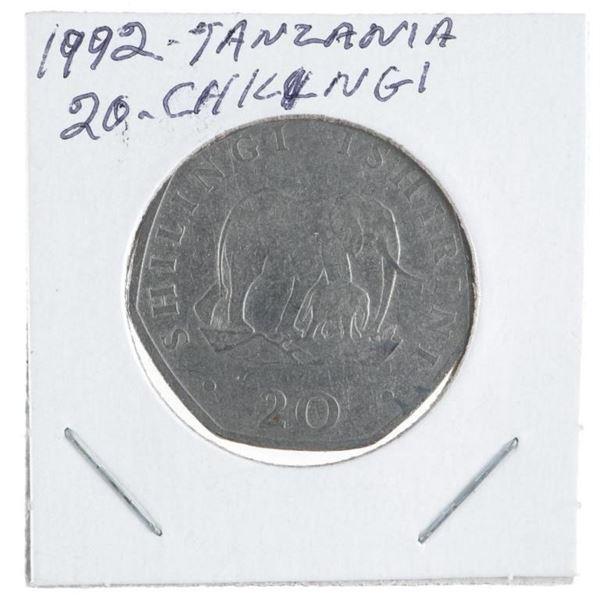 1992 Tanzania 20 Shilling