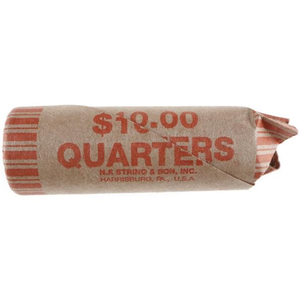 Roll CANADA 25 Cent Coins - 40 Coins