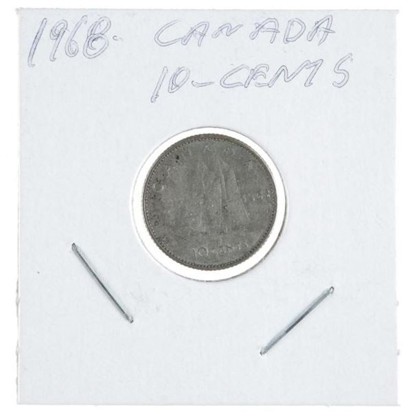 1968 Canada 10 Cents