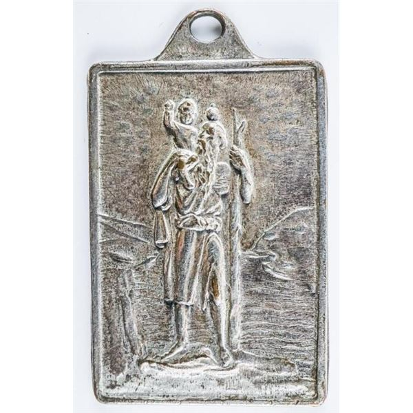 Saint Christopher and Sainte Anne Medal -  Pendant