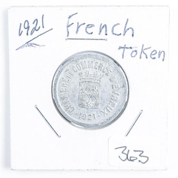 1921 French Token