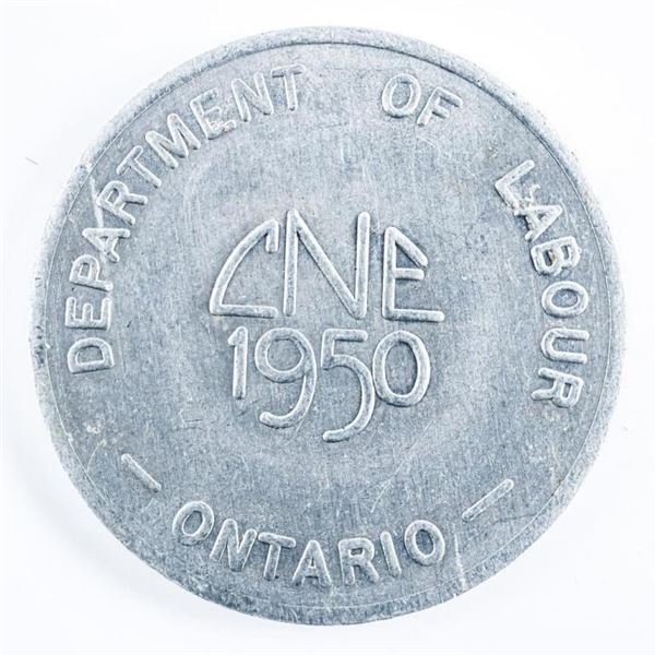 1950 CNE Dept. Labour Token