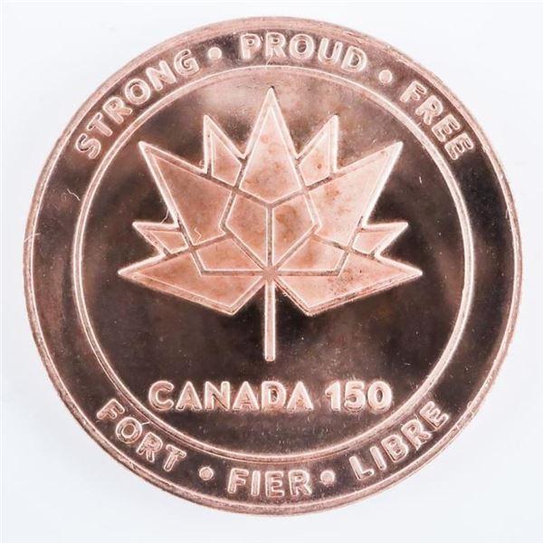 Canada 150 - 1867-2017 Medallion