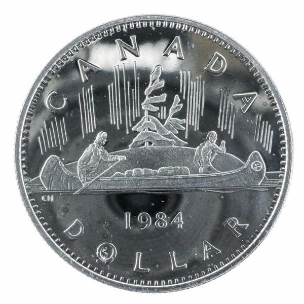1984 PL Nickel Dollar Coin