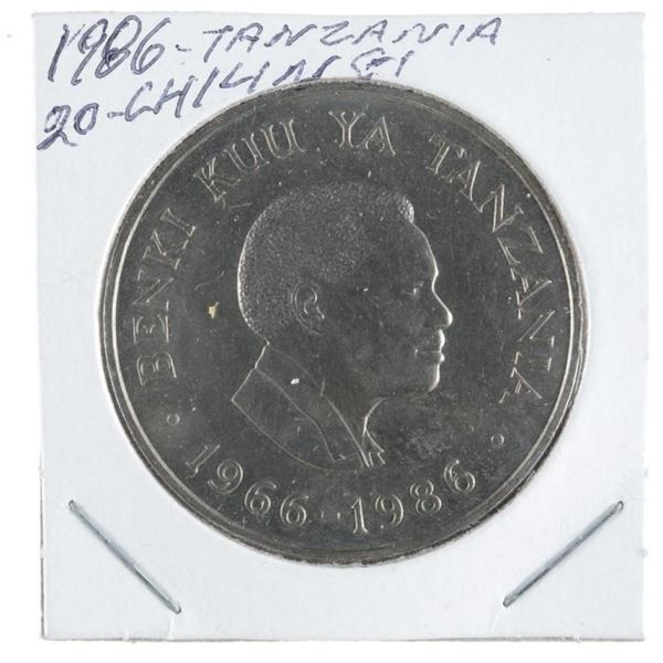 1986 Tanzania 20 Shillings