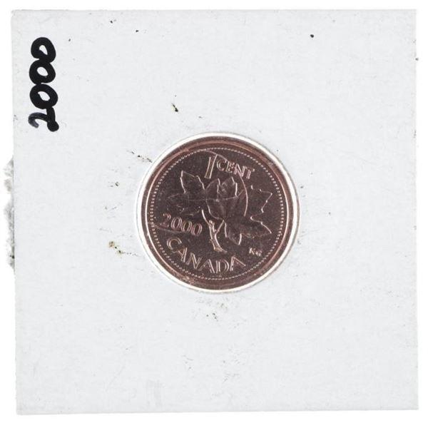 2000 CANADA 1 Cent UNC