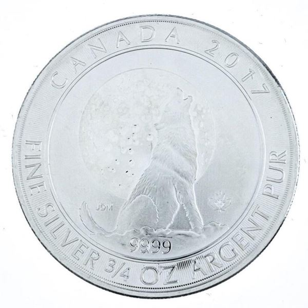 RCM 'Howling Wolf' Collectible Silver Bullion