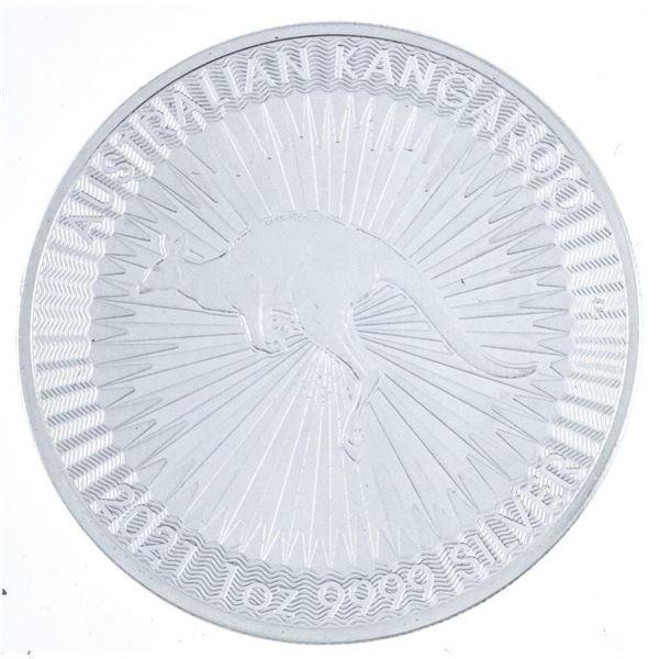 Australia 'Kangaroo' .999 Fine Silver $1.00