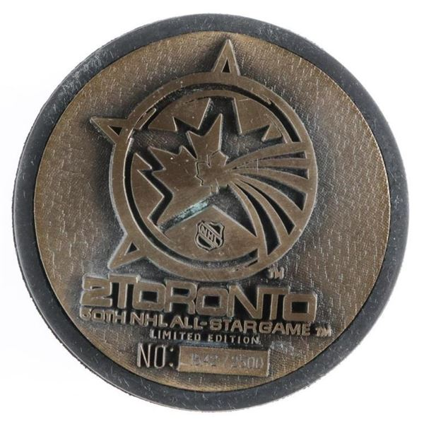 50 NHL All Star - Bronze LE Puck 2000