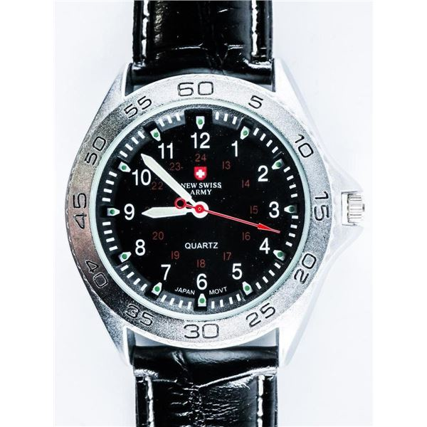 Gents - NSA Sport Watch Leather Band