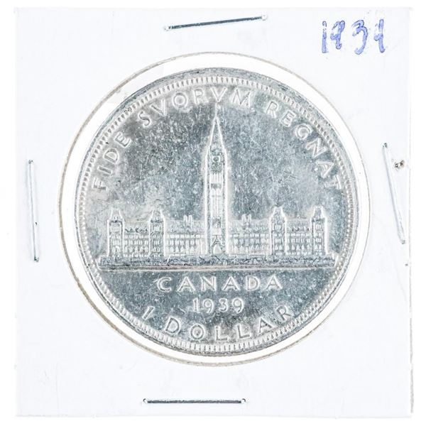 1939 Canada Silver Dollar SB/P5