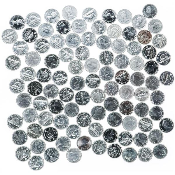 Bag (100) Canada Nickels