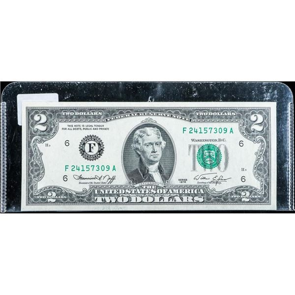 USA 1976 2.00 Green Seal UNC