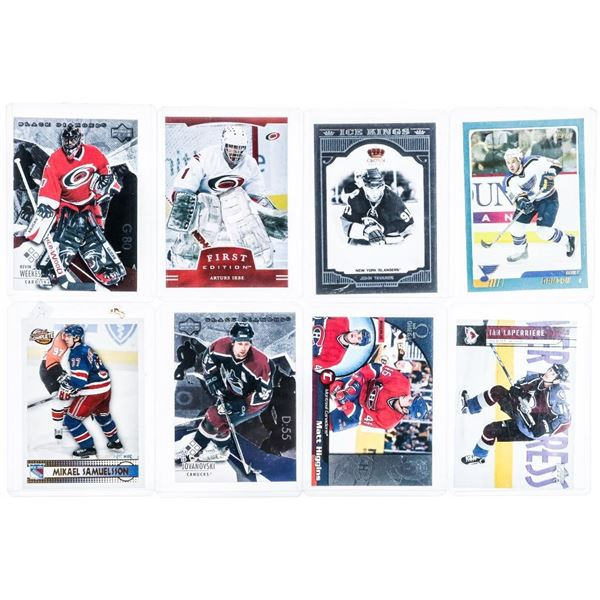 Group (8) NHL Stars and Rising Stars - Hockey Cards