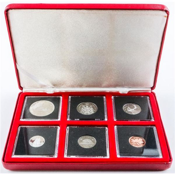 1981 Proof Like Coin Set, Quads and Cased