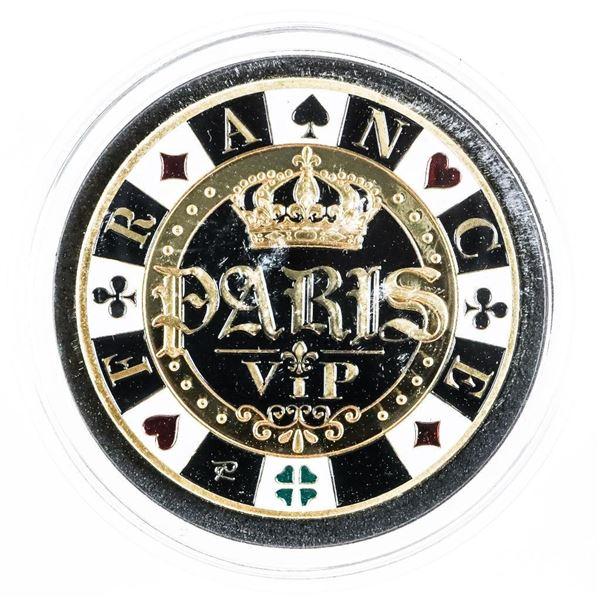 PARIS VIP Casino Collectible Medallion