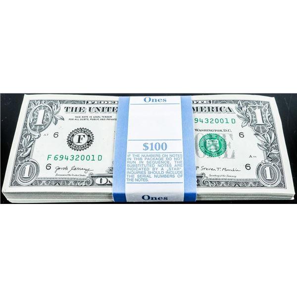 Federal Reserve 2017 Green Seal Buildng 6 - Atlanta Original Brick 100 x 1.00 in Sequence