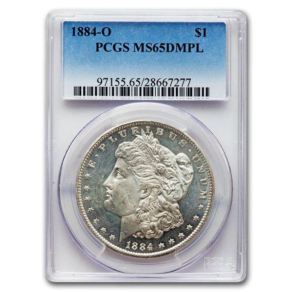 1884-O Morgan Dollar MS-65 DMPL PCGS