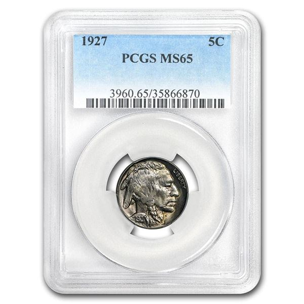 1927 Buffalo Nickel MS-65 PCGS