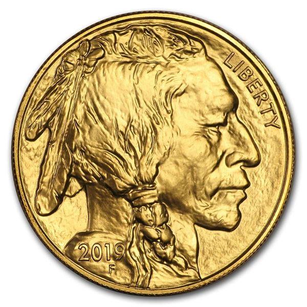 2019 1 oz Gold Buffalo BU