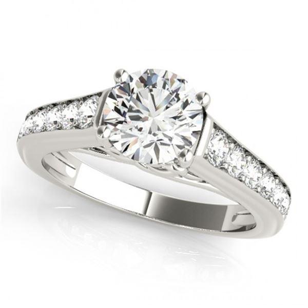 Natural 1 ctw Diamond Ring 14k White Gold