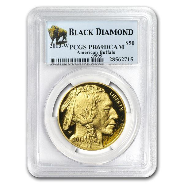 2013-W 1 oz Proof Gold Buffalo PR-69 PCGS (Black Diamond)