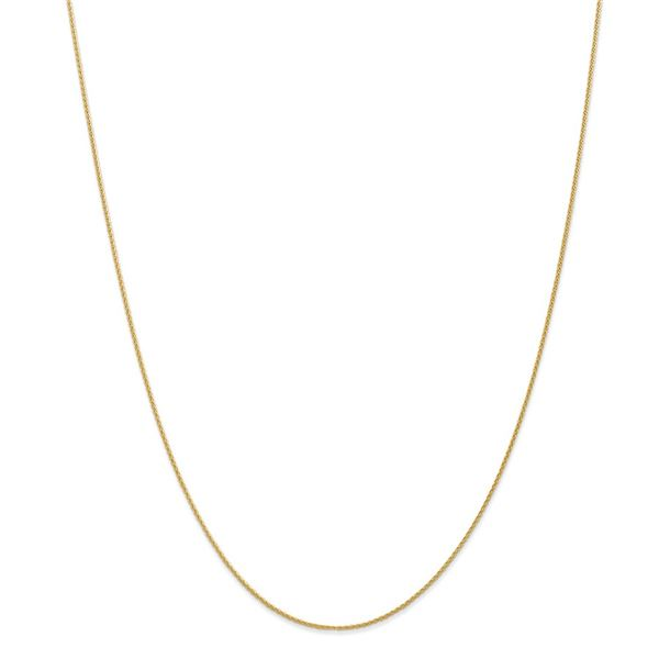 14k Yellow Gold .95 mm Parisian Wheat Chain - 22 in.