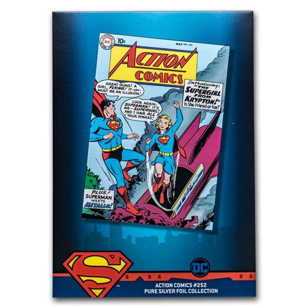 35 gram Silver DC Comics: Action Comics #252