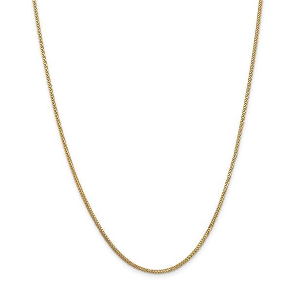 14k Yellow Gold 1.3 mm Franco Chain - 22 in.