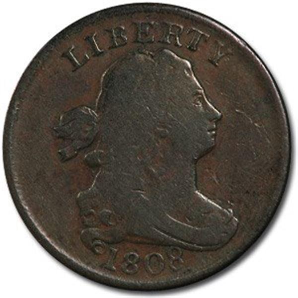 1808 Half Cent VF