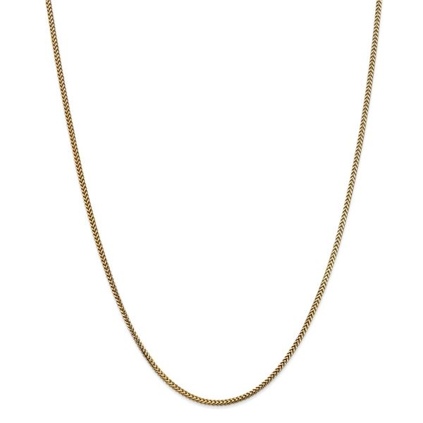 14k Yellow Gold 1.5 mm Franco Chain - 22 in.