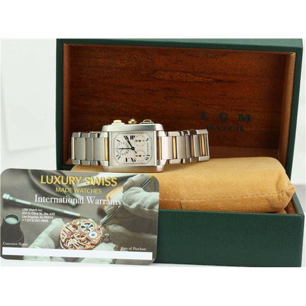 Pre-Owned Cartier Watch Tank Française 2303