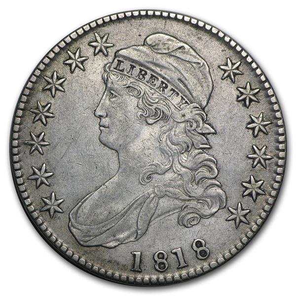 1818 Capped Bust Half Dollar XF