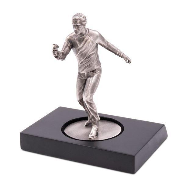 150 gram Silver Star Trek Captain James T. Kirk Statue