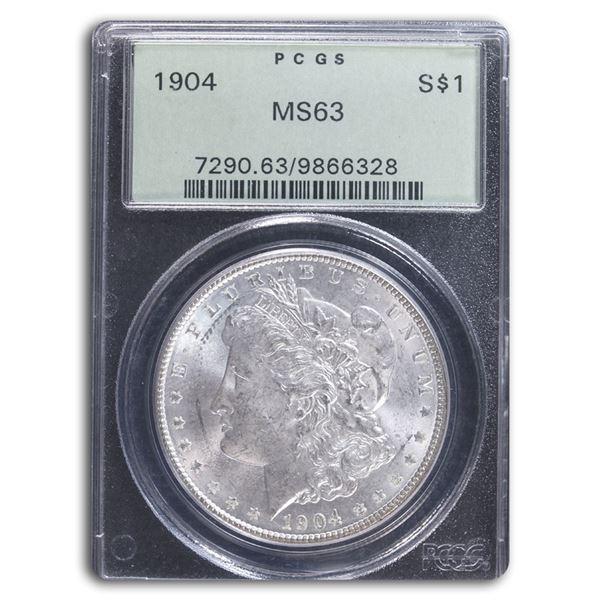 1904 Morgan Dollar MS-63 PCGS