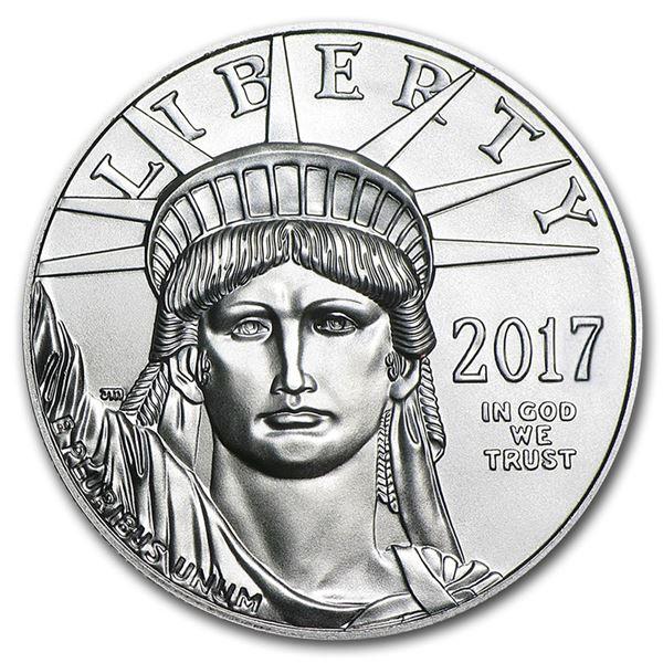 2017 1 oz Platinum American Eagle BU
