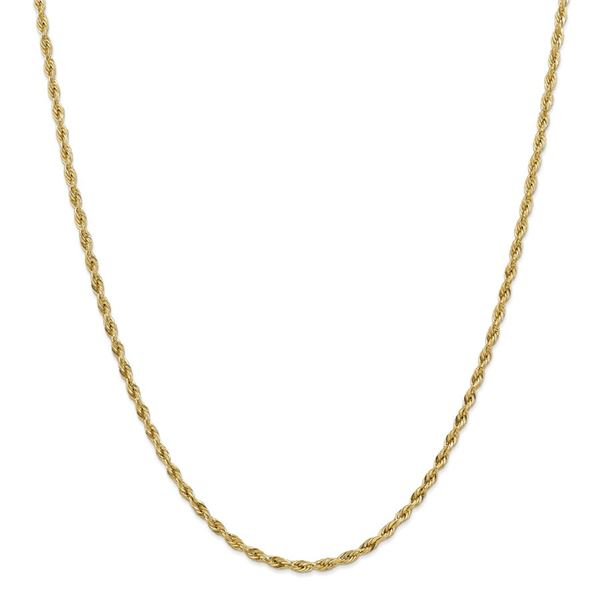 14k Goldy 3.0 mm Semi-Solid Rope Chain Necklace - 20 in.