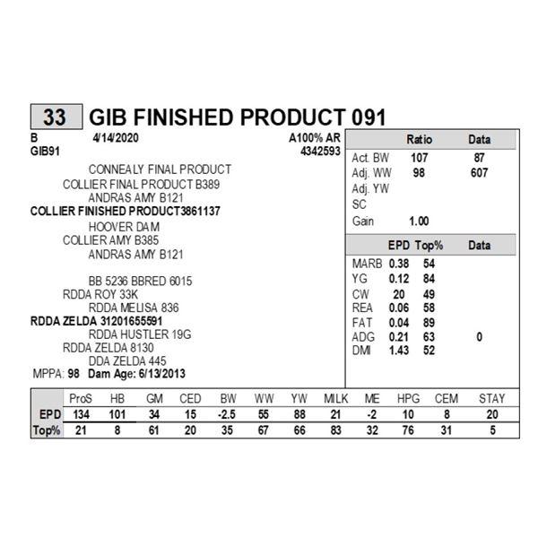GIB FINISHED PRODUCT 091