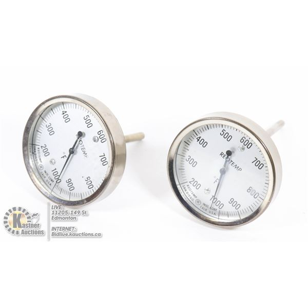 SET OF 2 REOTEMP INSTRUMENTS
