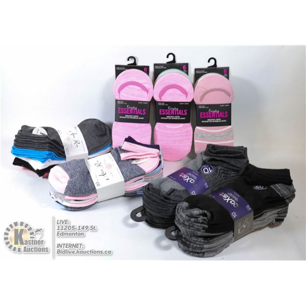 NEW 50 PAIR WOMEN'S ANKLE