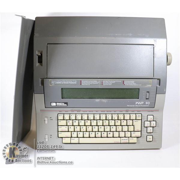SMITH CORONA PWP 90 ELECTRONIC WORD PROCESSOR