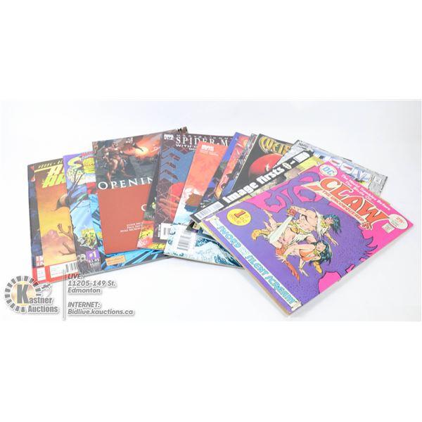 COMIC BOOKS ALL #1 ISSUES - 15 COMICS